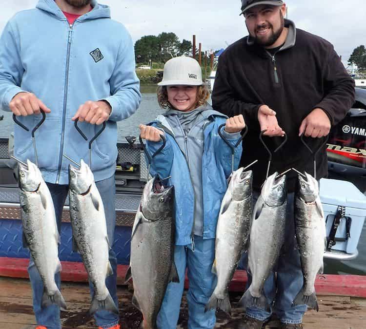 Ocean Salmon Fishing