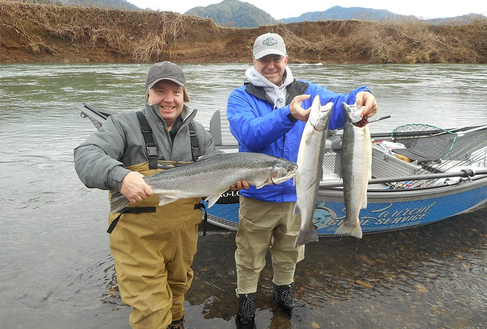Fishing Guide Booking Winter Steelhead