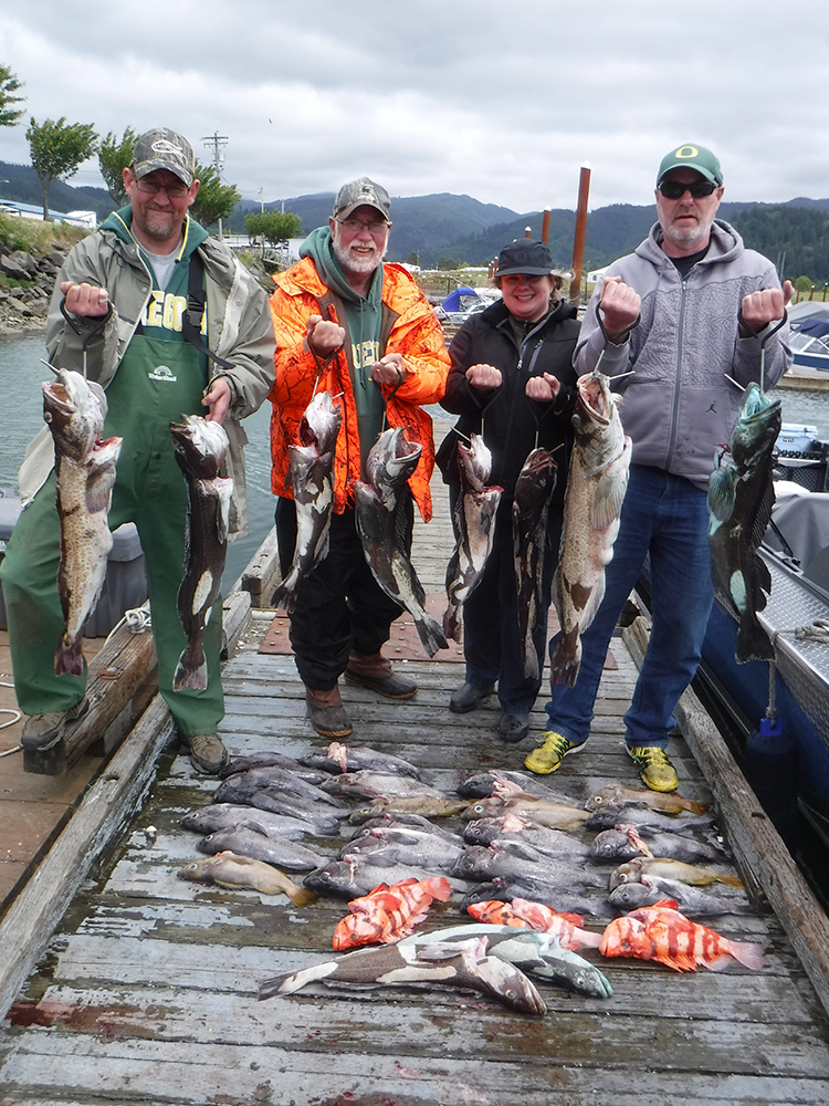 Tillamook Bay Fishing Guides | St  Laurent Guide Service